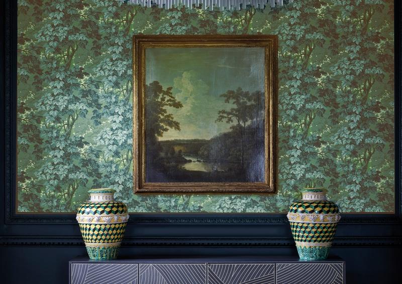 Zoffany Darnley green Richmond Wallpaper