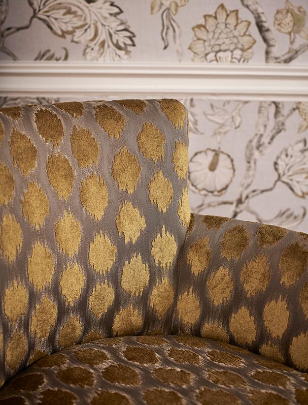 Kensington Walk Fabric on Chair