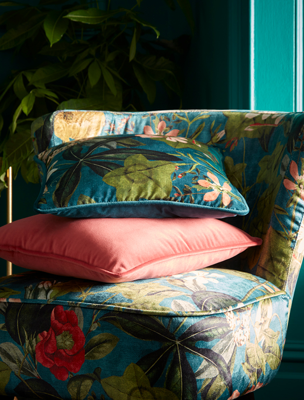 Passiflora fabric part of the Exotica collection