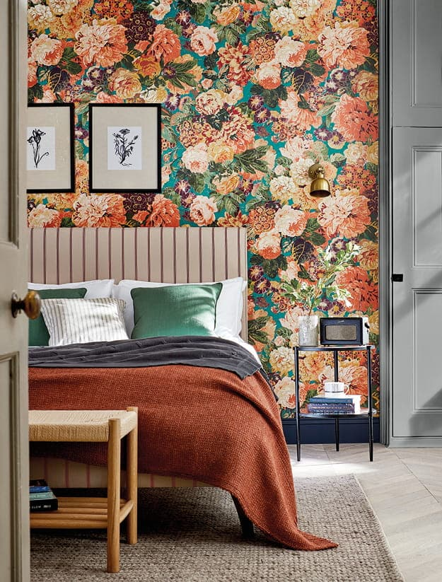 Sanderson One Sixty Wallpaper Rose and Peony