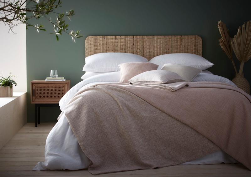 Eco range bedding in bedroom