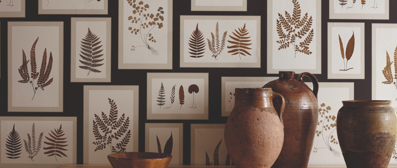 Fern Gallery Wallpaper in Hallway