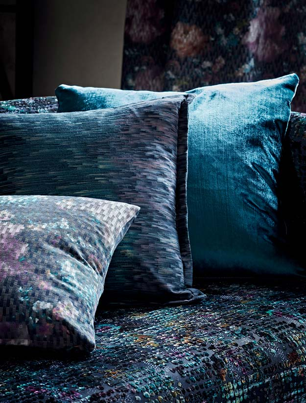 Camile & Ombre fabric cushion part of the Fusion Collection