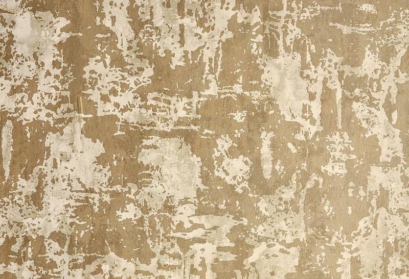 Anthology 06 gold tone wallpaper close-up