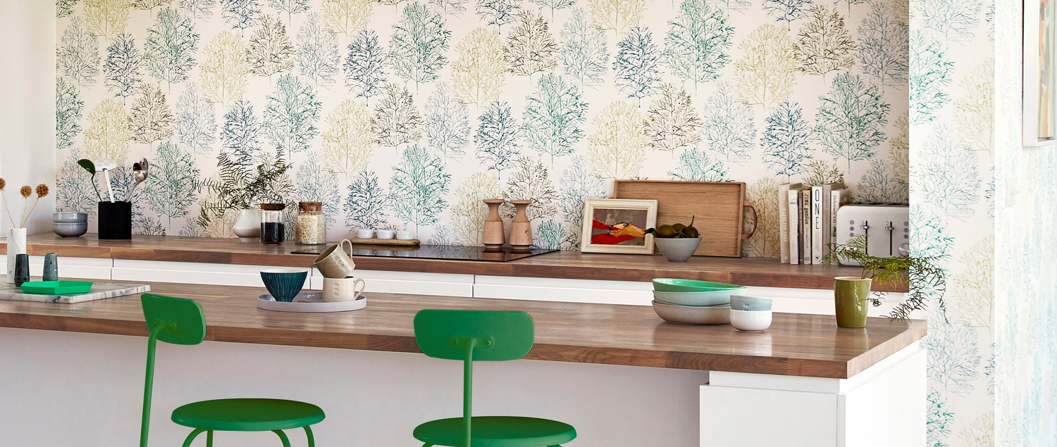 Scion Zanzibar 2019 56 Soetsu  Wallpaper in Kitchen