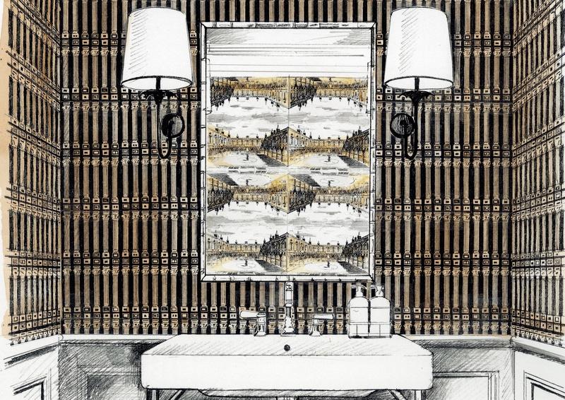 Zoffany 2020 Palladio 03 Wallpaper