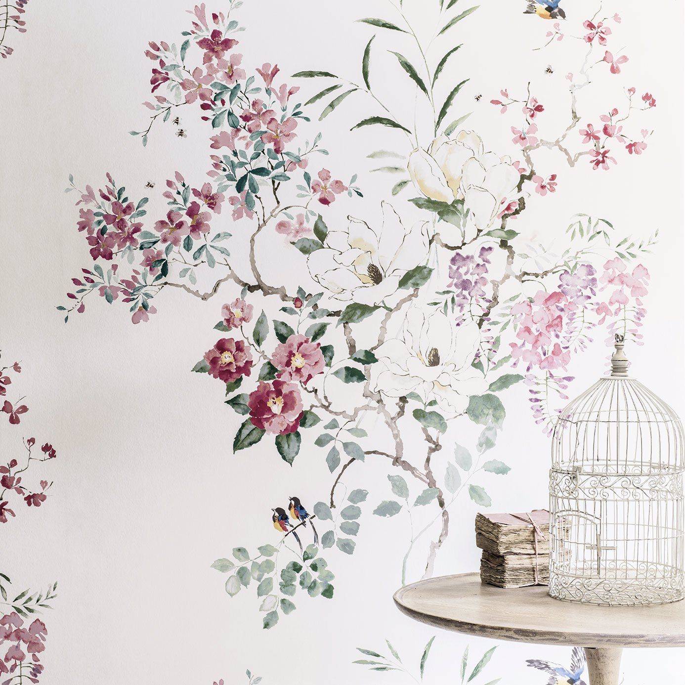 Magnolia & Blossom Panel B by SAN