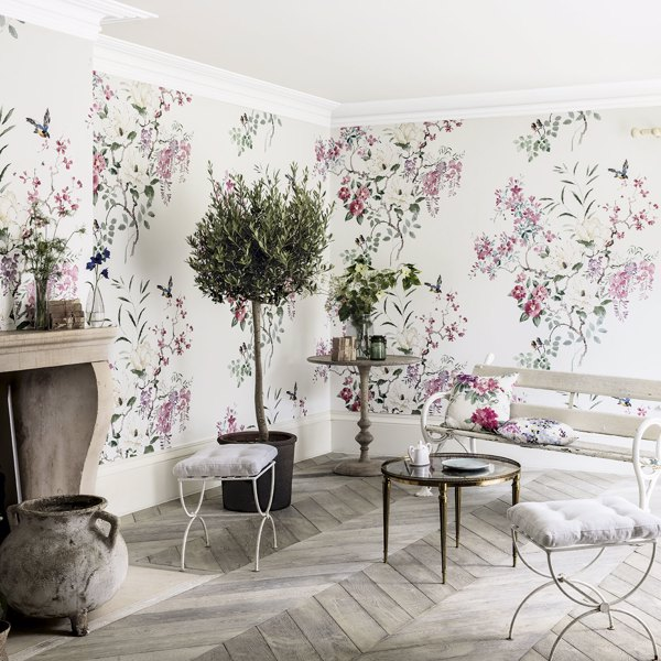 Magnolia & Blossom Panel B by Sanderson
