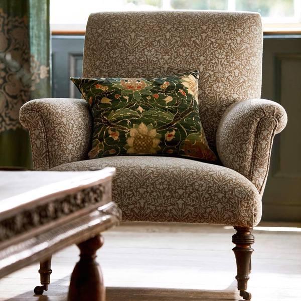 Bellflowers Weave by Morris & Co