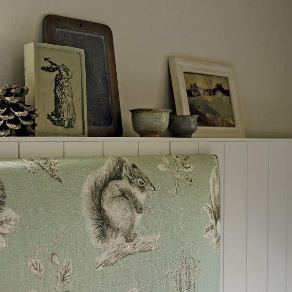 Squirrel & Hedgehog by Sanderson