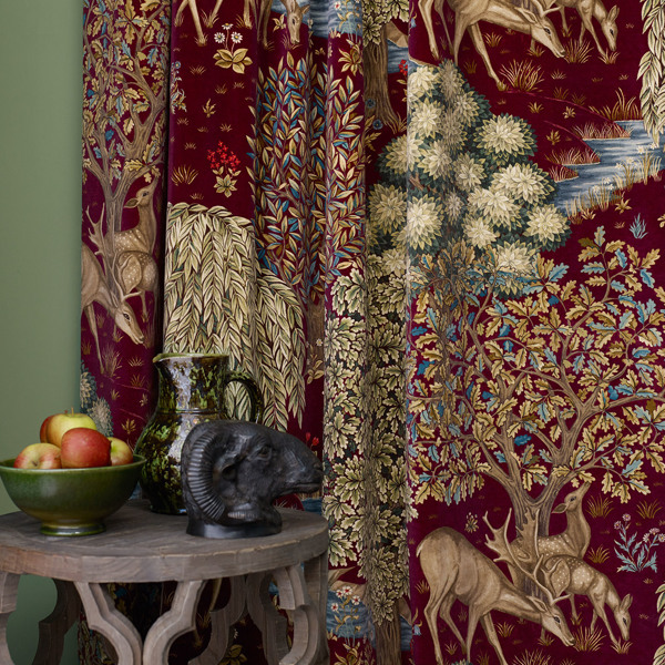 The Brook Tapestry by Morris & Co