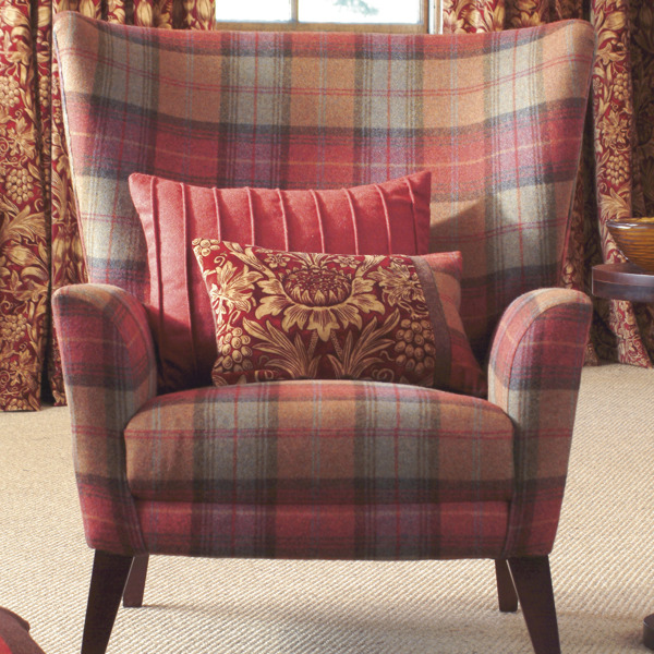 Woodford Plaid by Morris & Co