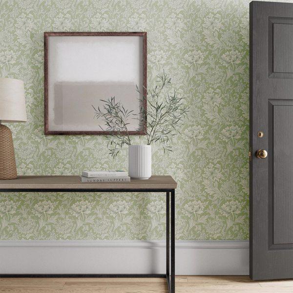 Chrysanthemum Toile by Morris & Co