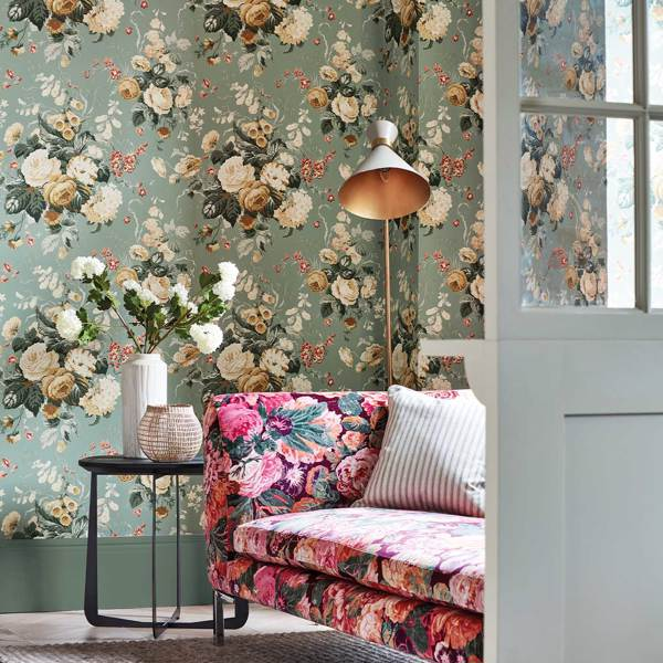 Very Rose and Peony by Sanderson