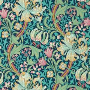Golden lily Wallpaper