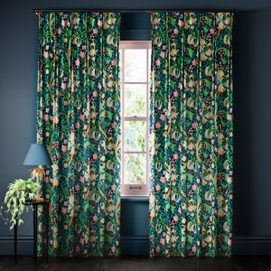 Golden lily Curtains