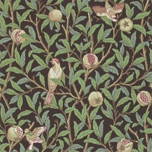 Bird & Pomegranate by Morris & Co