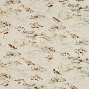 Estuary Birds Linen by Sanderson