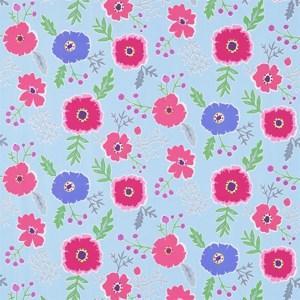 Wind Poppies by Sanderson
