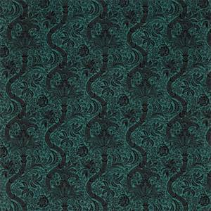 Indian Flock Velvet by Morris & Co
