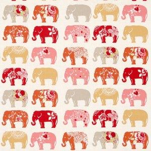 Elephants by Clarke & Clarke