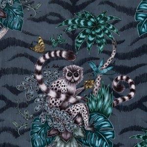 Lemur Velvet by Clarke & Clarke