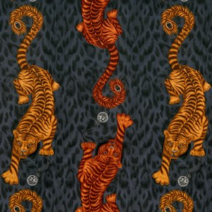 Tigris Velvet by Clarke & Clarke