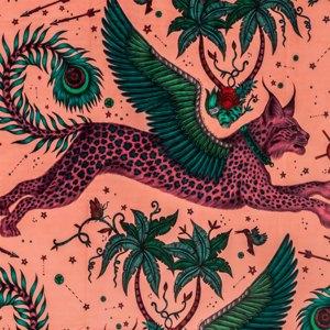 Lynx Velvet by Clarke & Clarke