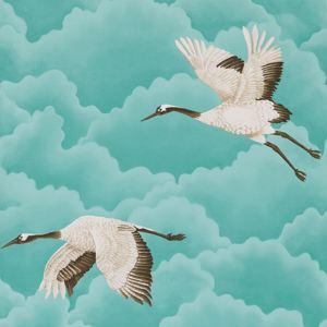 Cranes In Flight by Harlequin