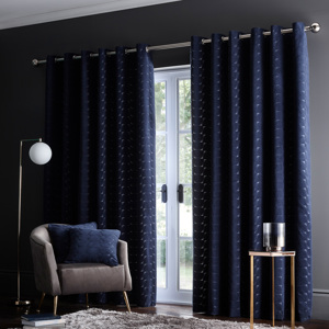 Lucca Curtain by Clarke & Clarke