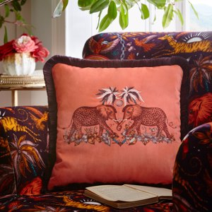 Zambezi 43x43 Square Cushion by Clarke & Clarke