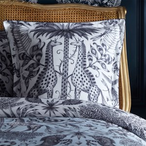 Kruger 65X65 Square Piped Pillowcase by Clarke & Clarke