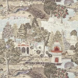 Peacock Garden by Zoffany