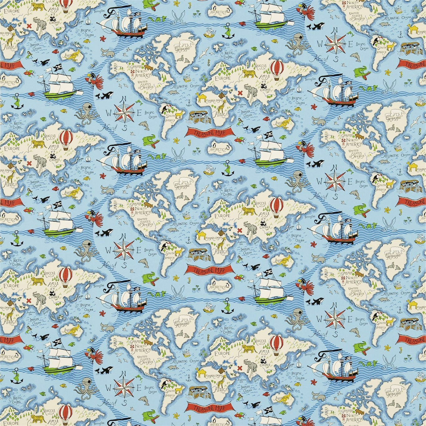 Treasure Map by SAN
