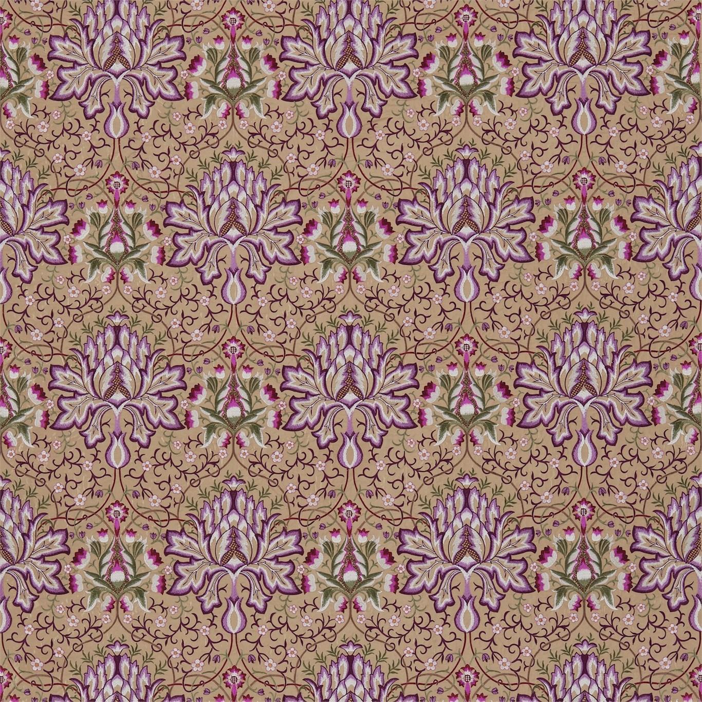 Artichoke Embroidery by MOR