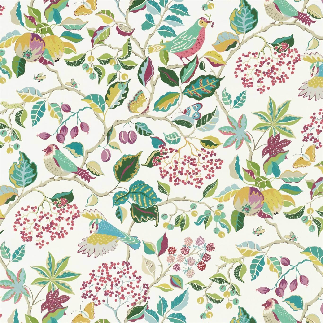 Birds & Berries by SAN