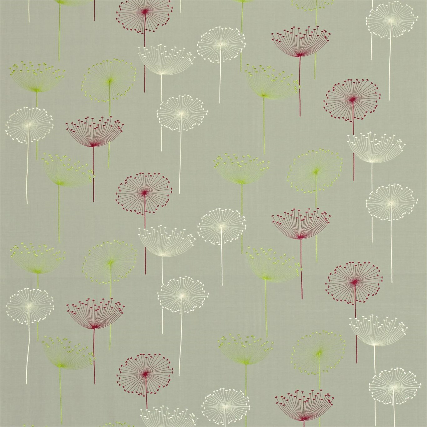 Dandelion Embroidery by SAN