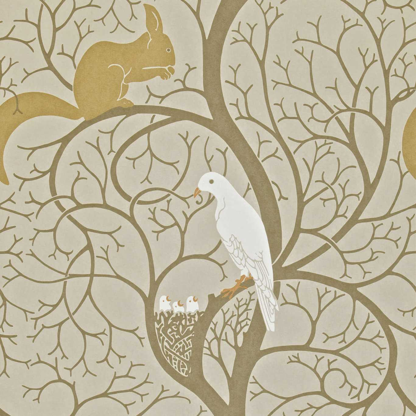 Squirrel & Dove by SAN