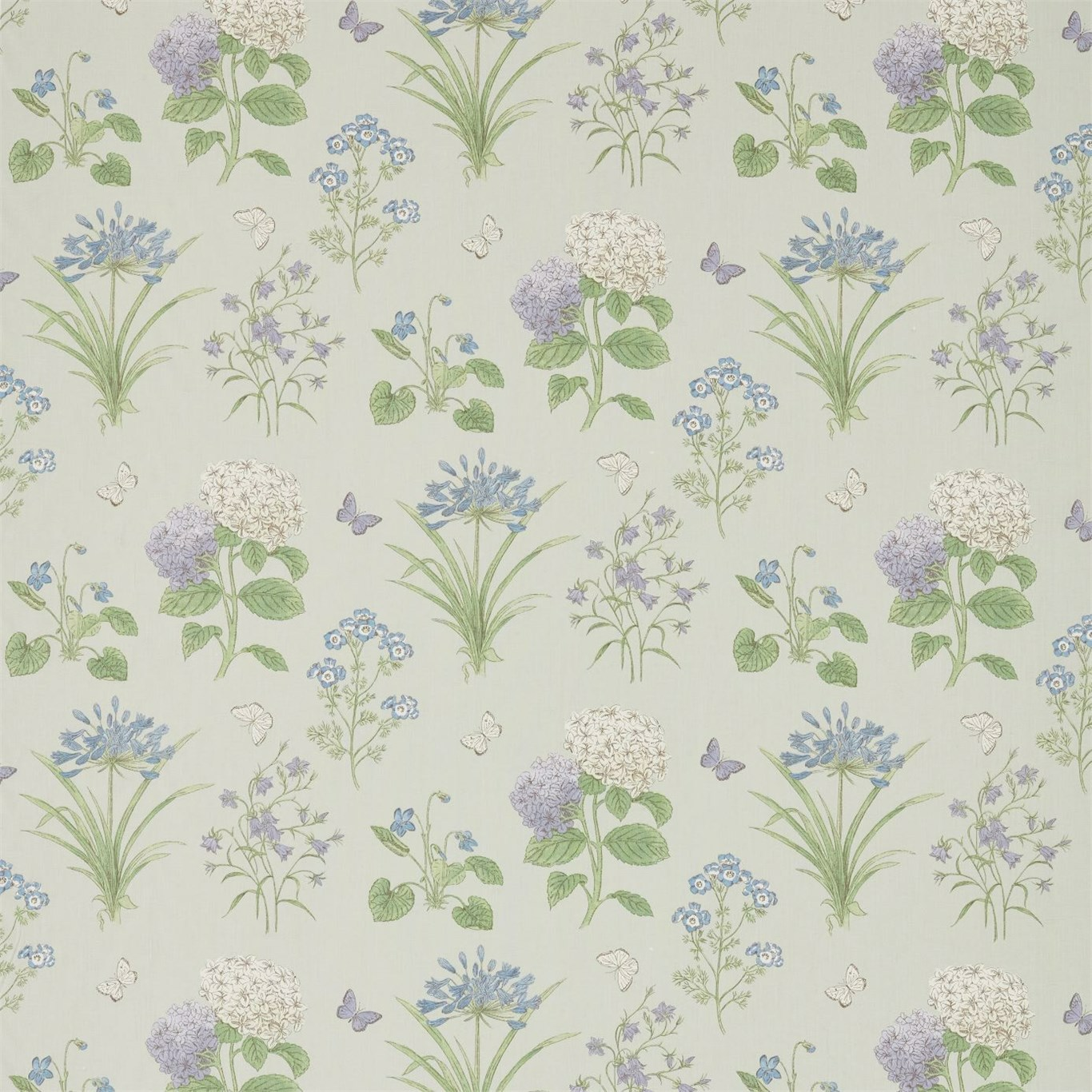 Harebells & Violets by SAN