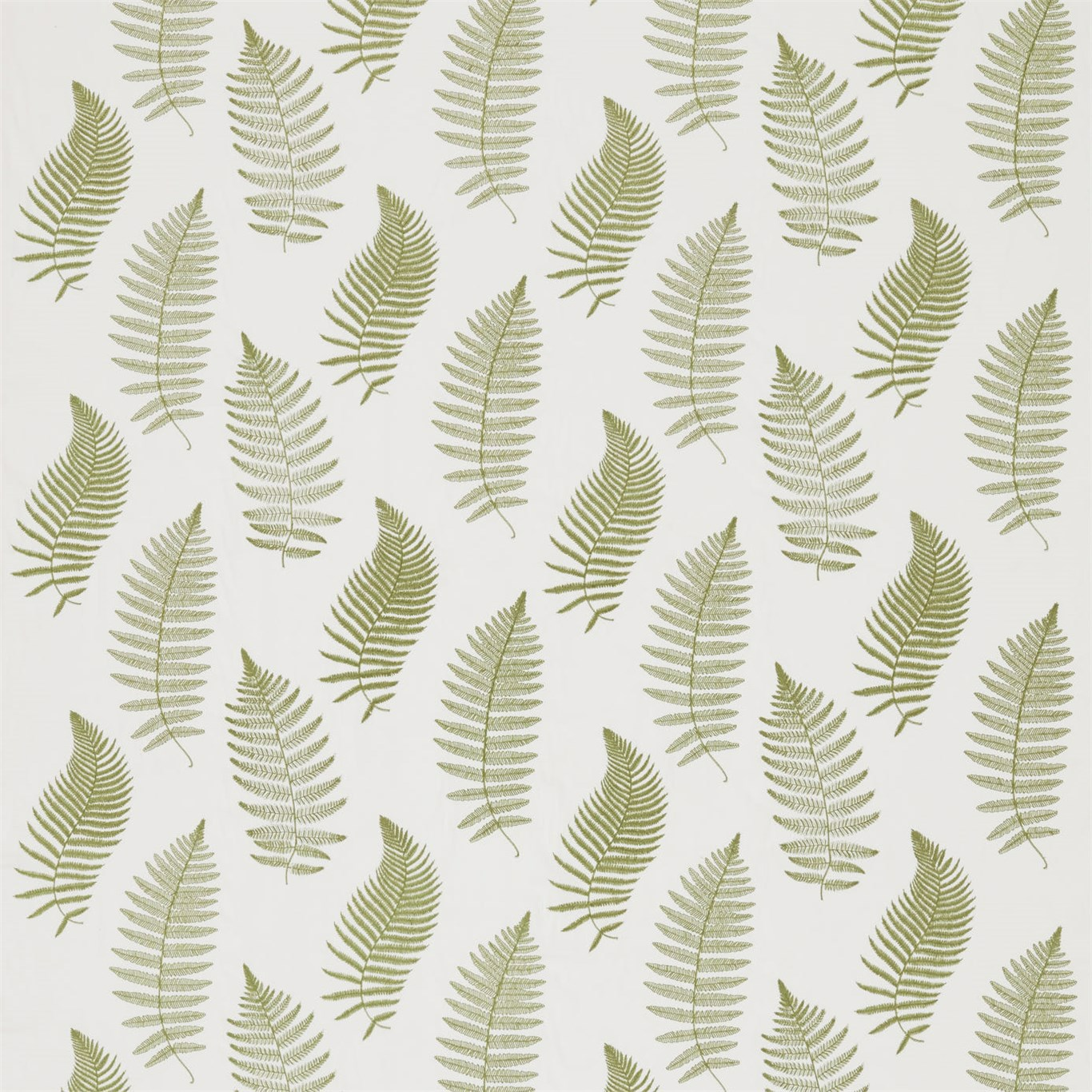 Fern Embroidery by SAN