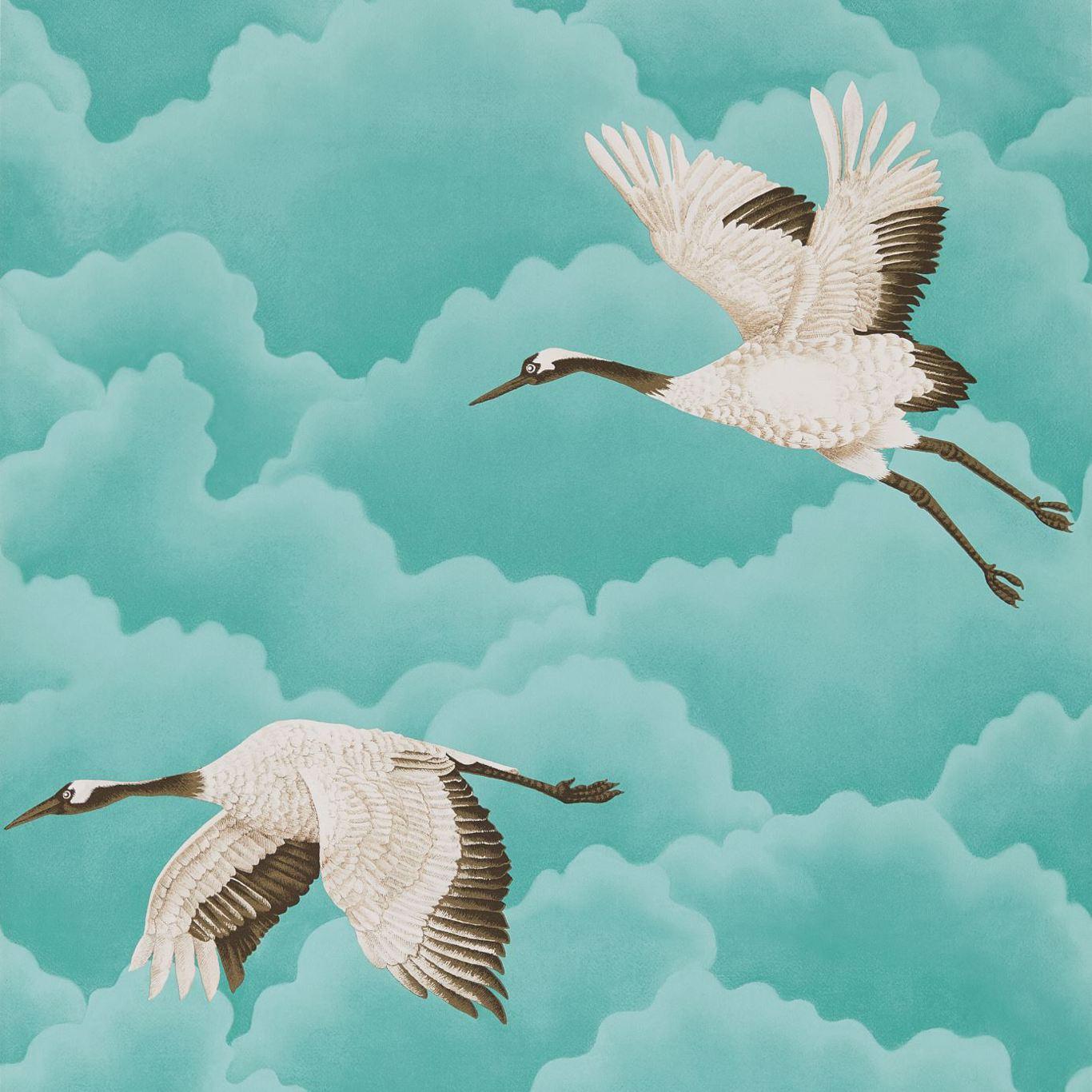 Cranes In Flight by HAR