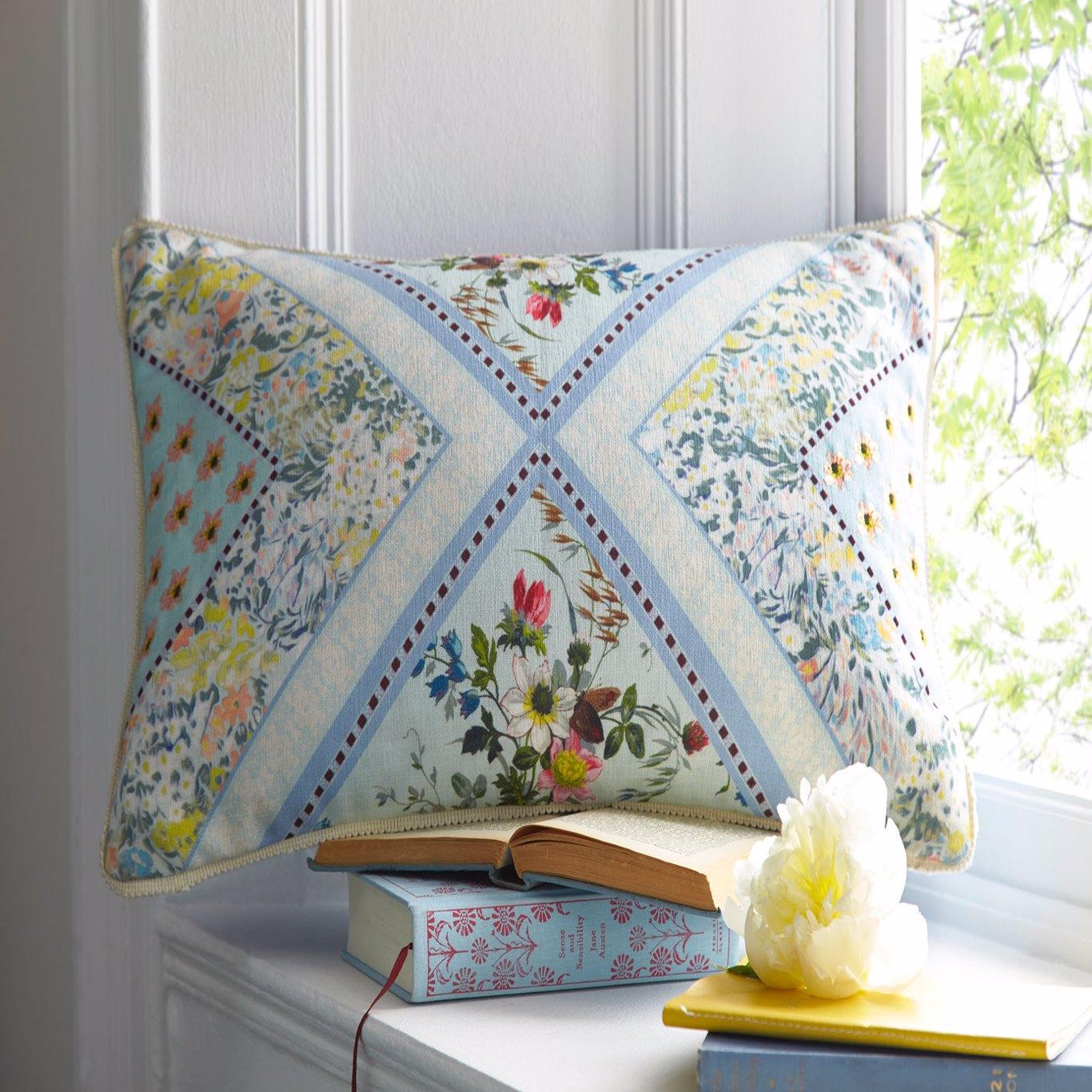 Patchwork Boudoir Cushion by OAS