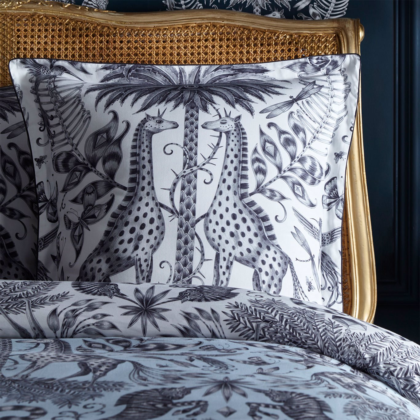 Kruger 65X65 Square Piped Pillowcase by EMS