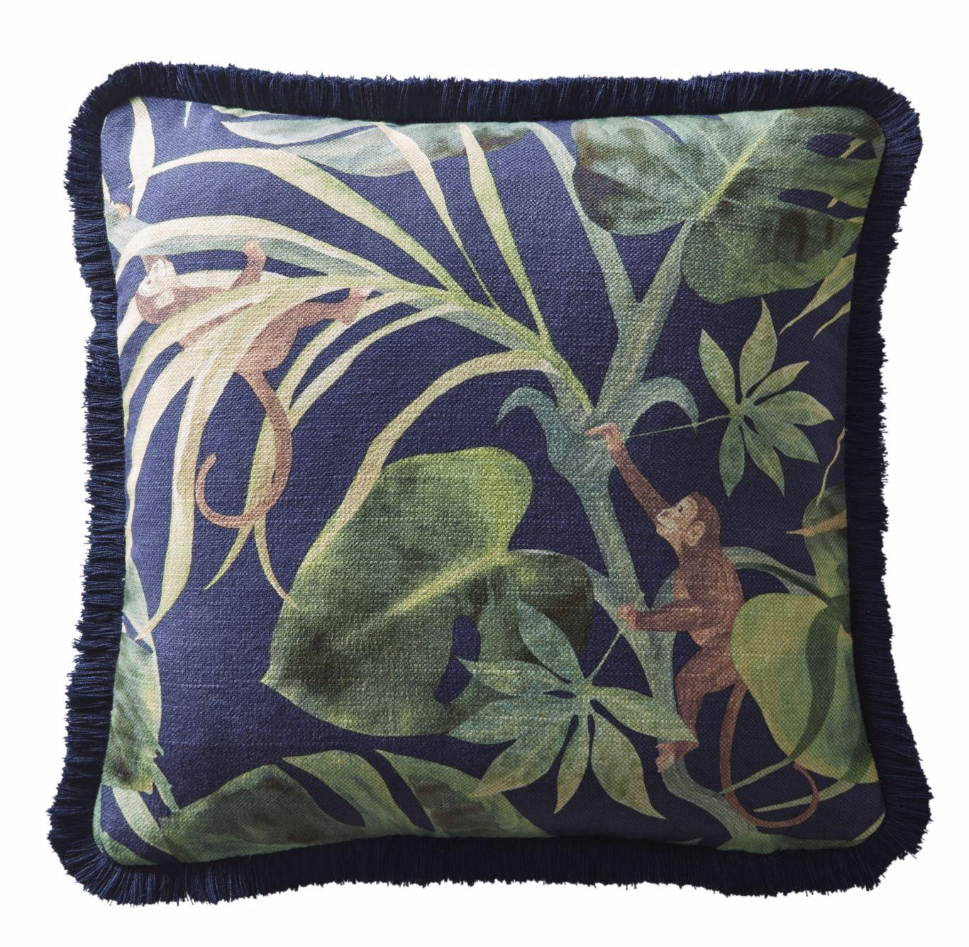 Monkey Business Cushion by CNC