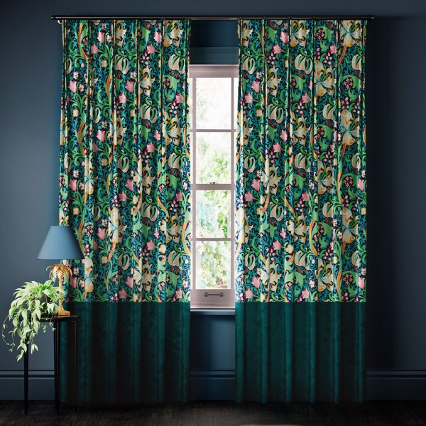 Golden lily Curtains by Archive