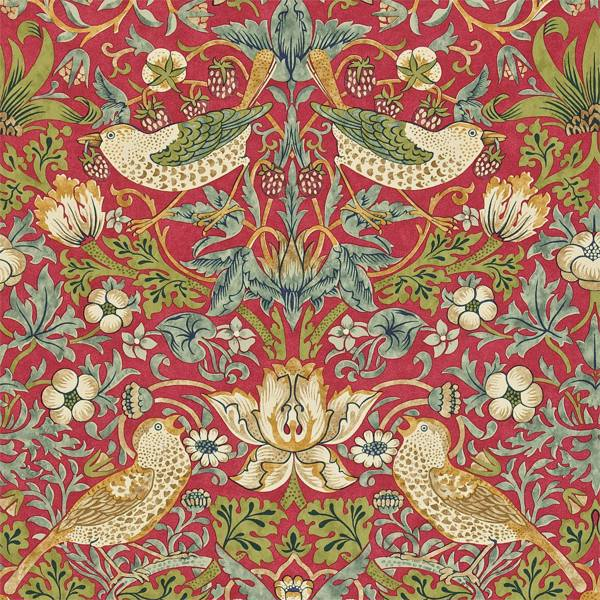 Strawberry Thief by Morris & Co
