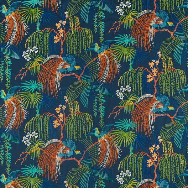 Rain Forest Embroidery by Sanderson