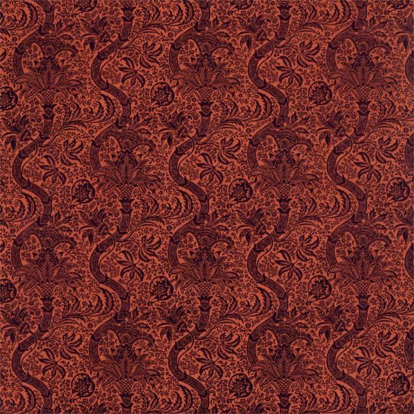 Indian Flock Velvet by Morris & Co