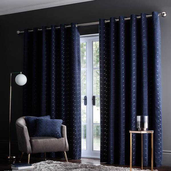 Lucca Curtain by Clarke & Clarke