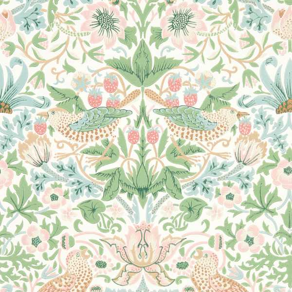Simply Strawberry Thief by Morris & Co
